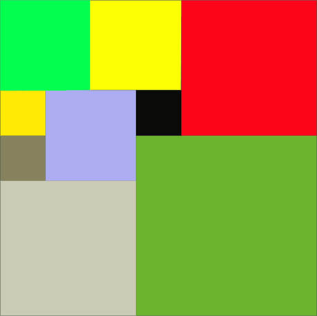 Fine. Here's a square, since I know you were waiting.  It's a square made of squares.  You're welcome.