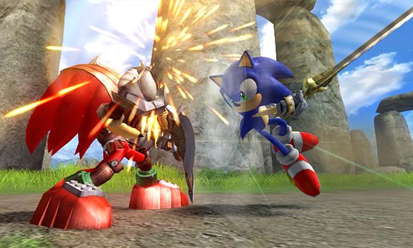 Sonic VS Knuckles in Black Knight
