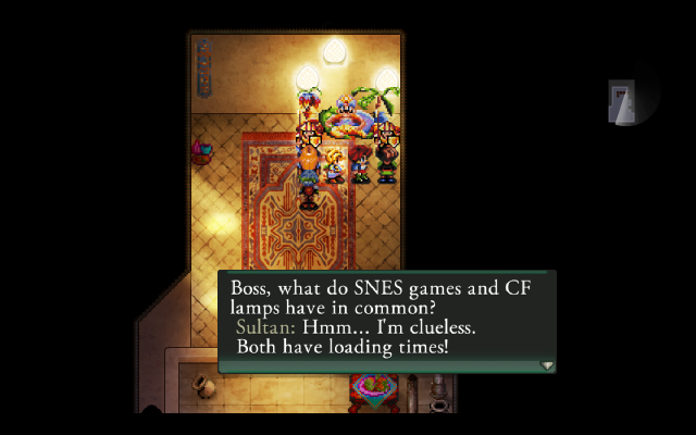 This isn't even the worst example of this game's writing, but some of them are so vulgar as to not be displayed here.