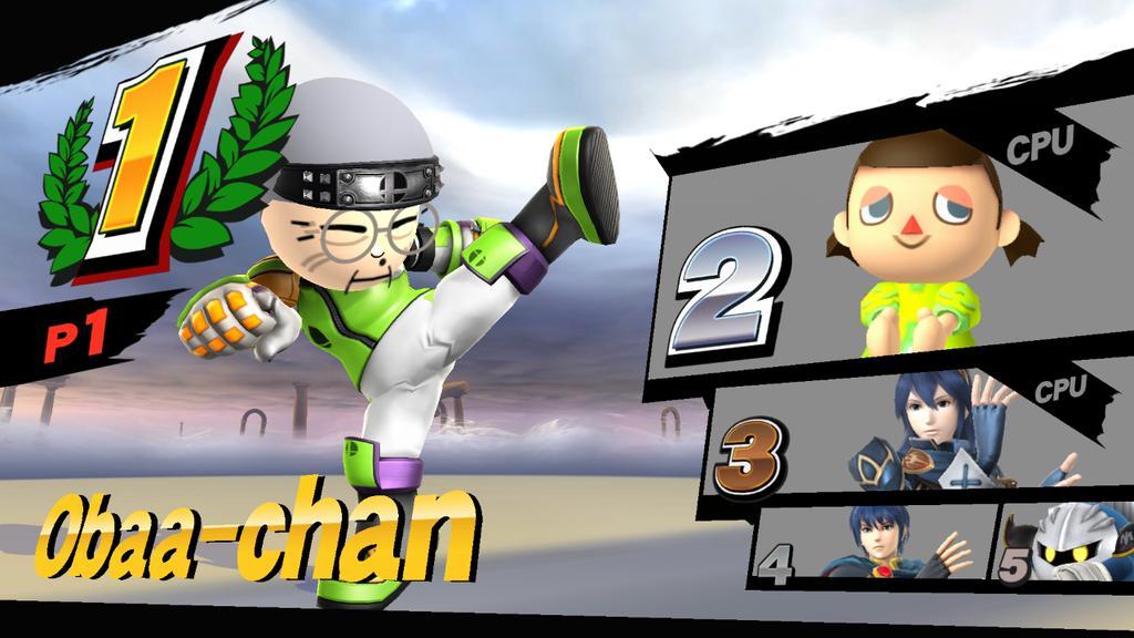Obaa-chan wins