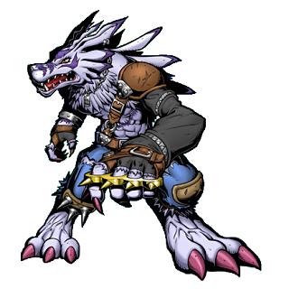 Ultimate Digimon Weregarurumon, one of my personal favs.