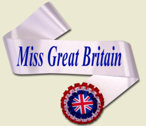 miss great britain sash