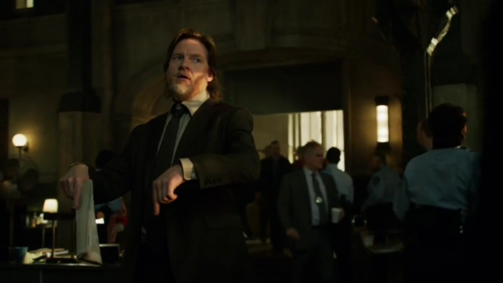 No kidding. I mean you're kidding, right This isn't an elaborate prank or... - Harvey Bullock