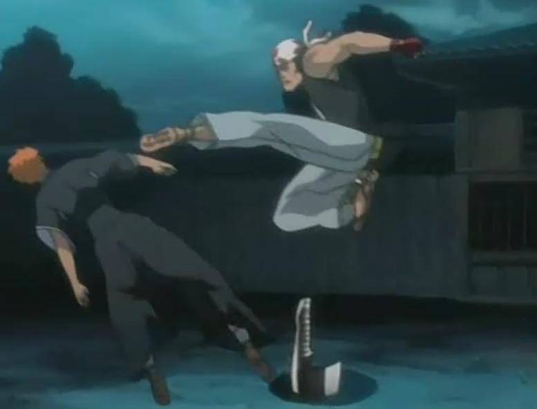 Ganju_Kicks_Ichigo