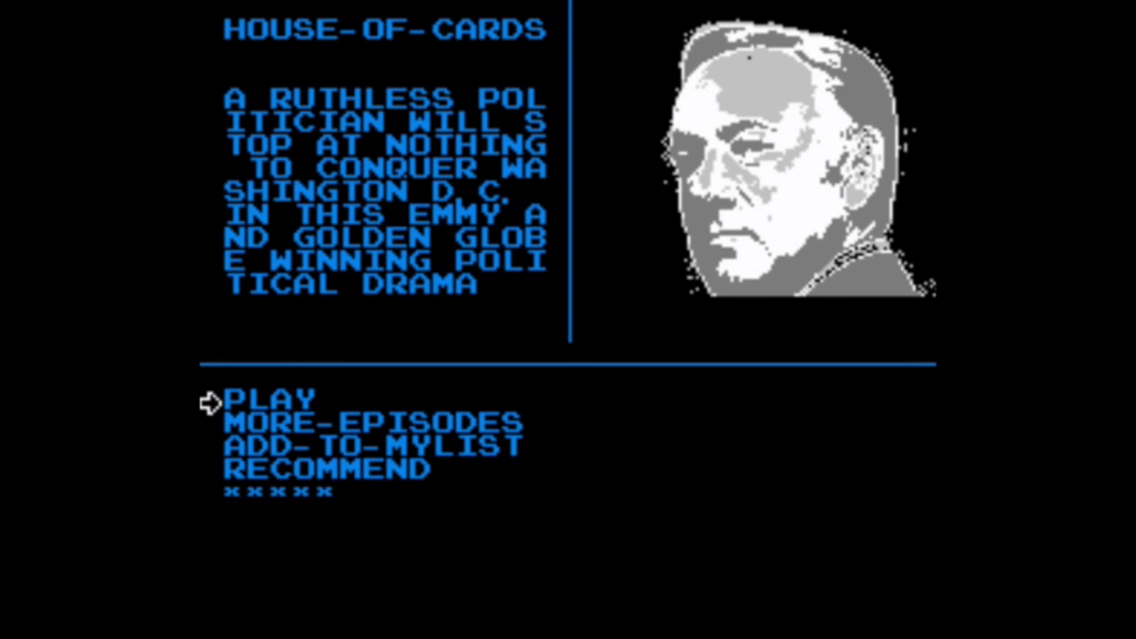 Kevin Spacey never looked so 8 bit before.