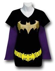 Batgirl Caped Shirt