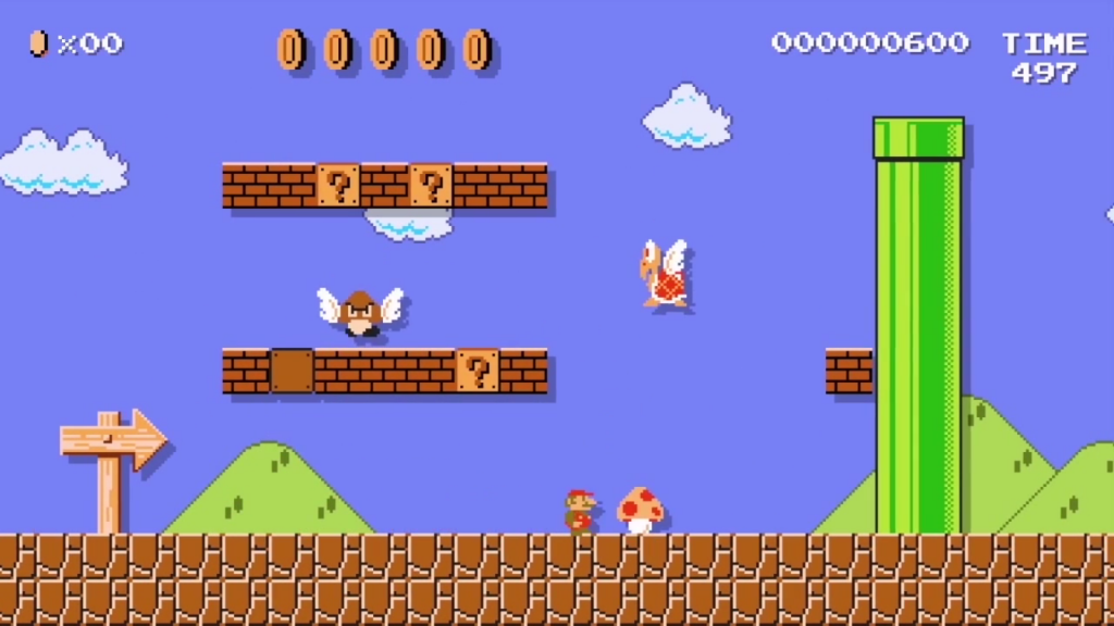 Looks like Mario Maker will be released on the 30th anniversary of Super Mario Bros.