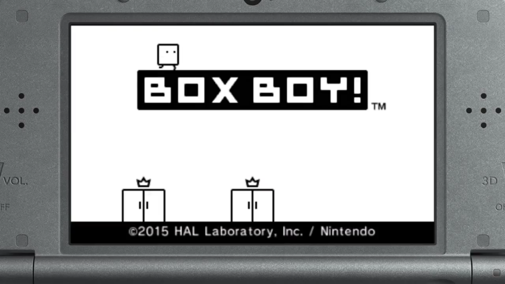 Box Boy is made by Hal. Same developers of Kirby.