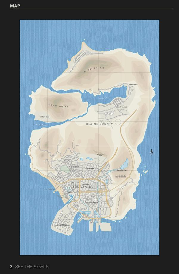 GTAV map