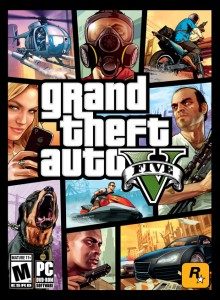 GTA V cover art