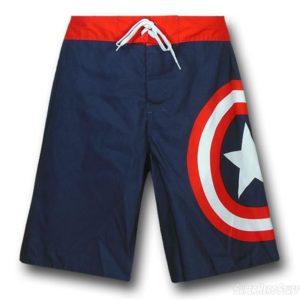 Captain America Board Shorts
