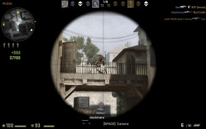 Scoping helps you take down targets from a far distance