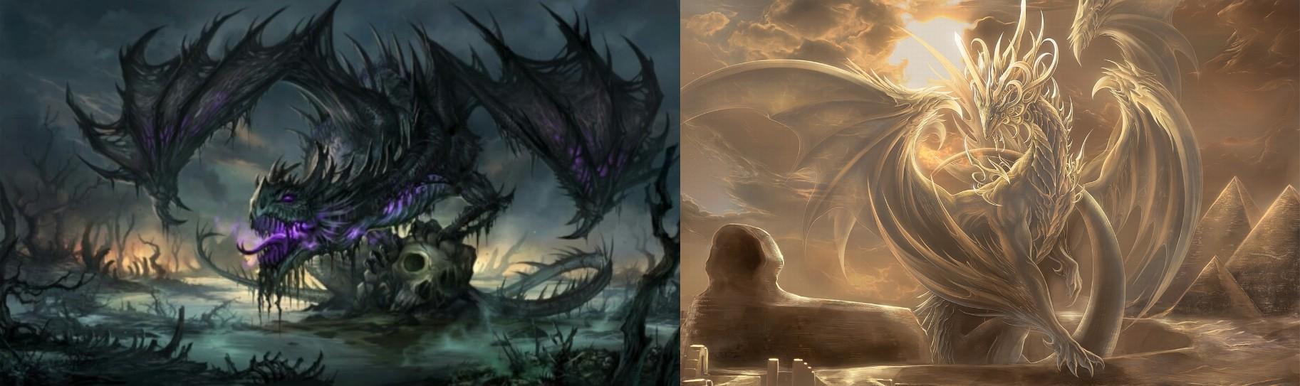 dragon good and evil