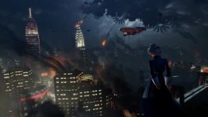 destroying New York