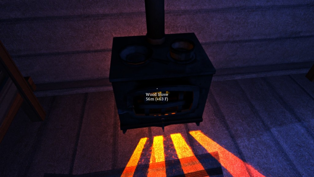 The long dark stove