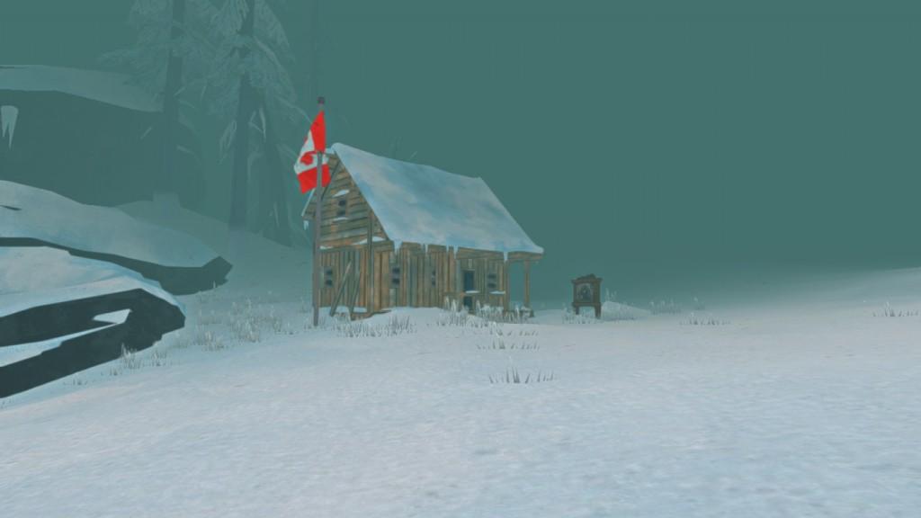 The Long Dark house