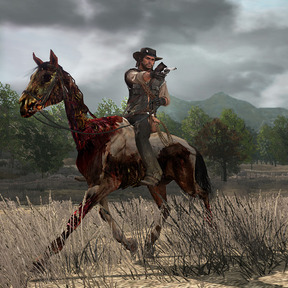 Red dead horse