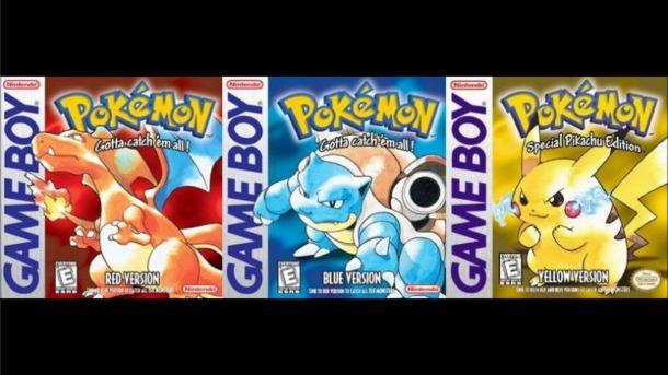 pokemonredblueyellowNintendo VC
