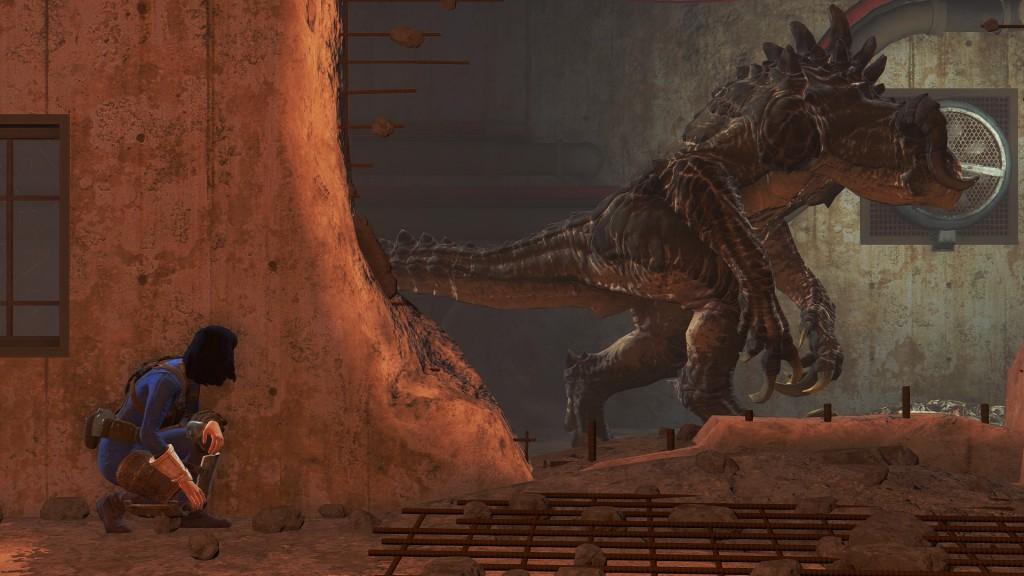 Deathclaw encounter