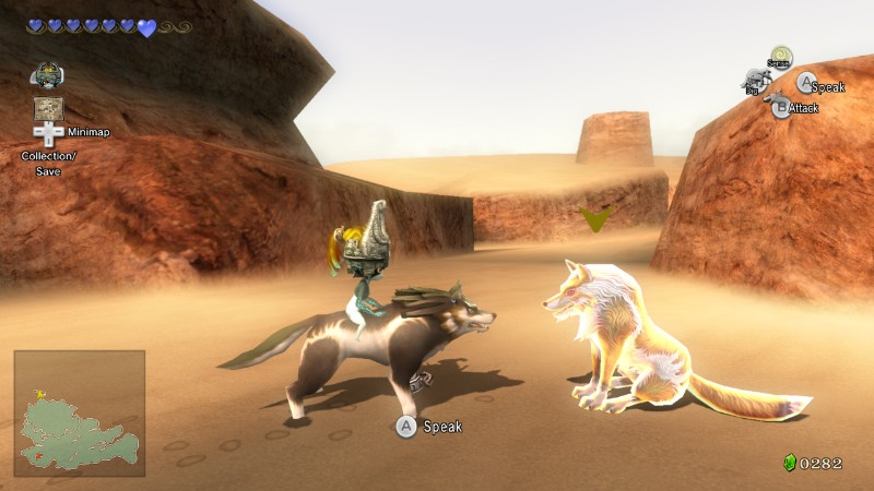 Wolf link attack
