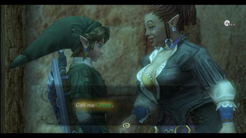 Eyes up, Link