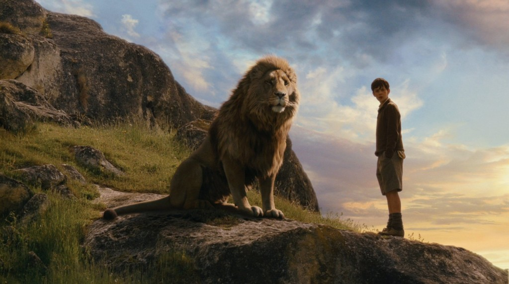 aslan and edmund