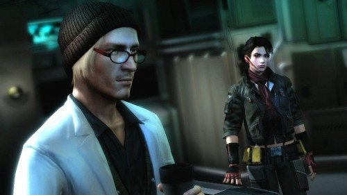 All cutscenes take place within the game engine