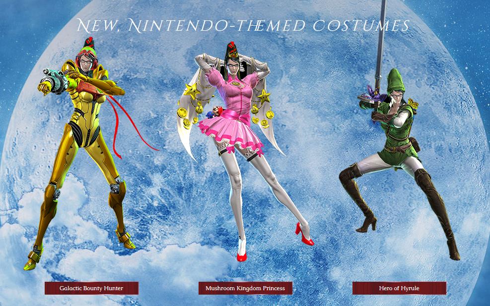 Wii U costumes