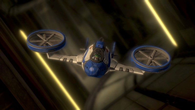 star fox zero gyrocopter