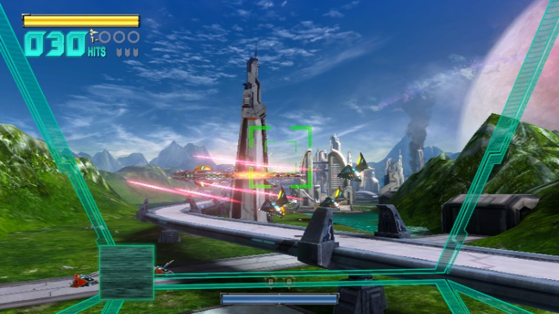 star fox zero  view