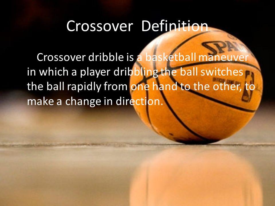 crossover basketball
