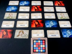 Codenames board game