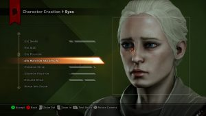 Character custom