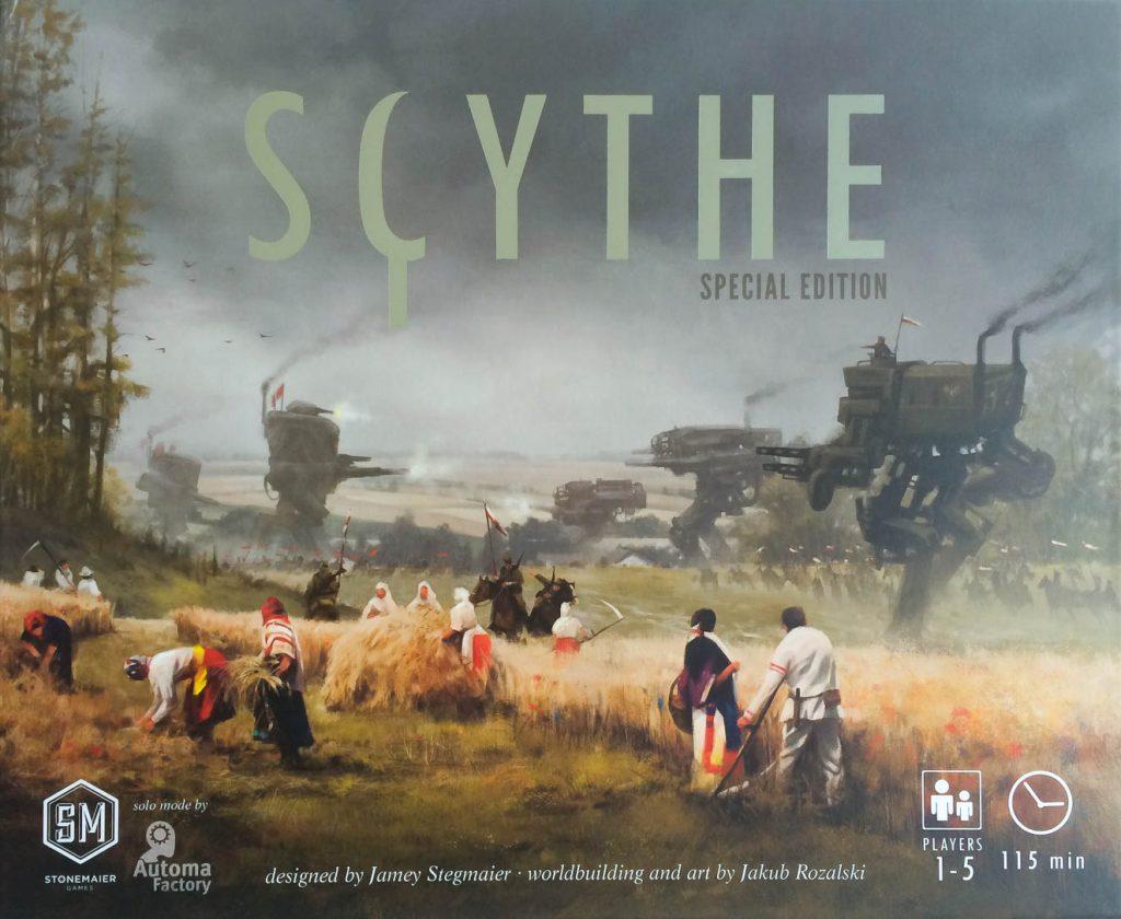 scythe, game box