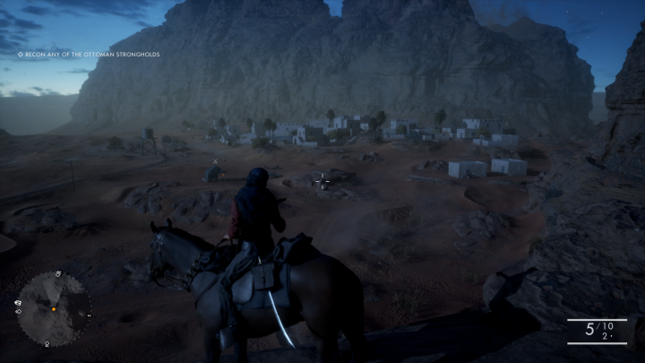 Arabia is a much more beautiful and majestic environment compared to the other war torn locations