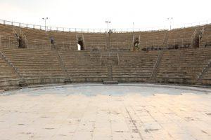 Roman amphitheatre at Caesarea.