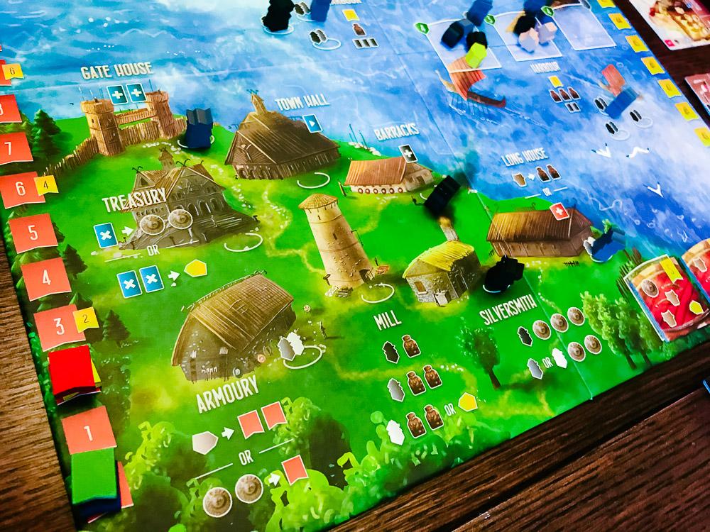 The viking village.