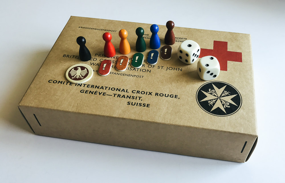 Just a few of the pieces included in Escape from Colditz.
