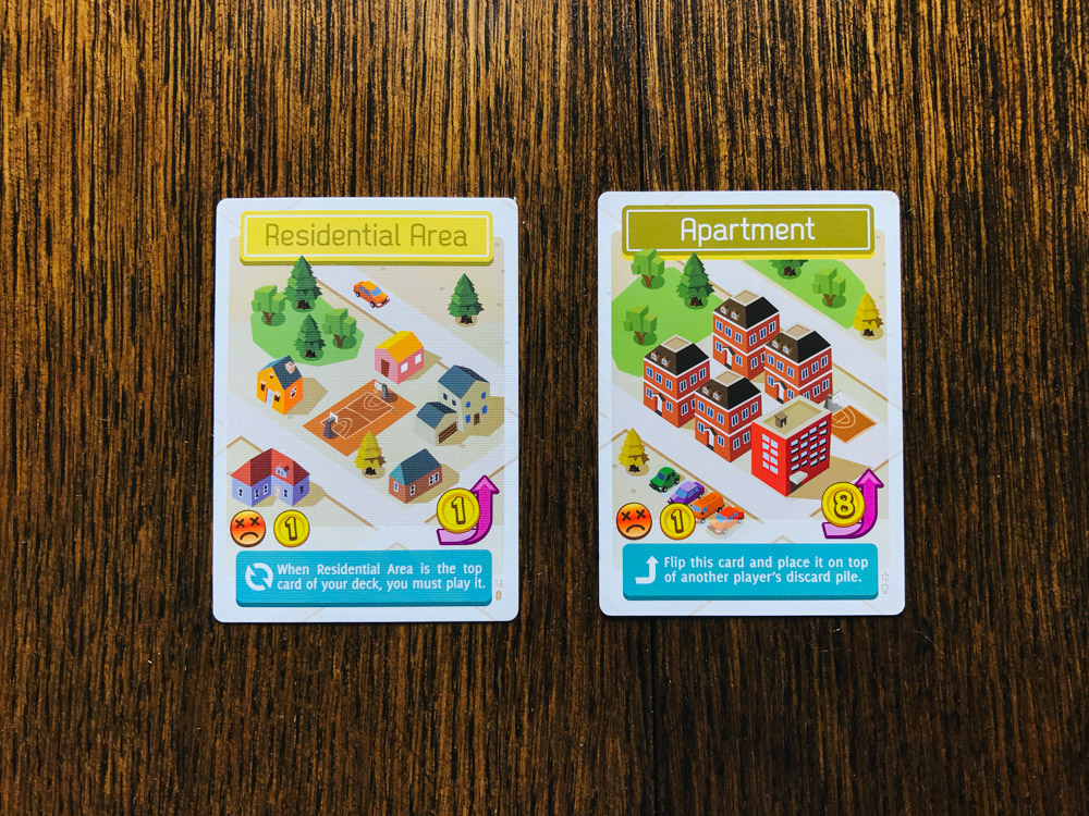 Flip City residential area and apartment