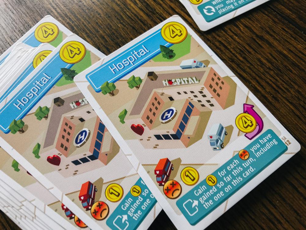 Flip City hospital cards