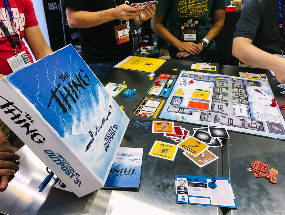 the thing usaopoly gencon