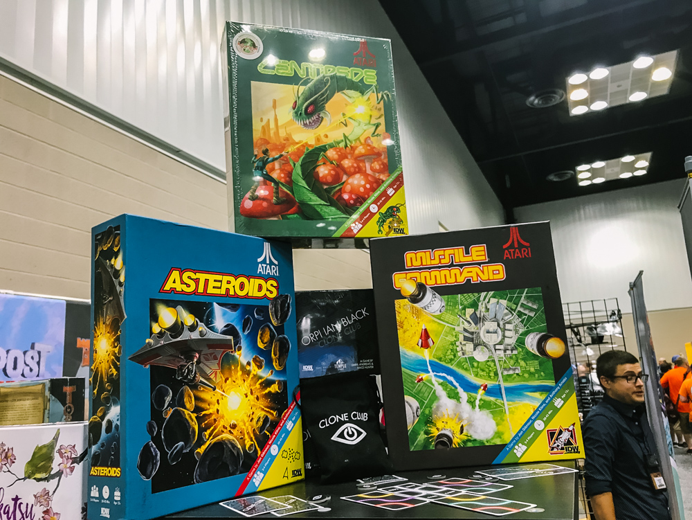 IDW Games centipede, asteroid, missile Command