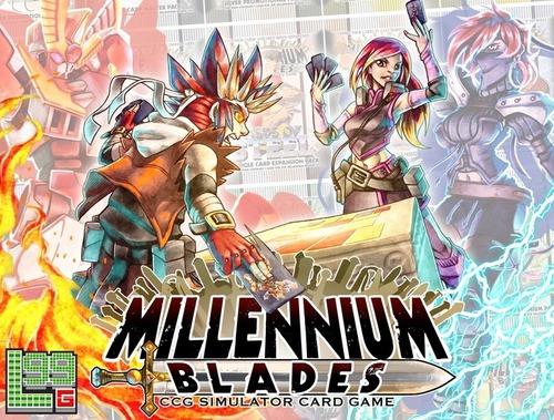 Millennium Blades box art
