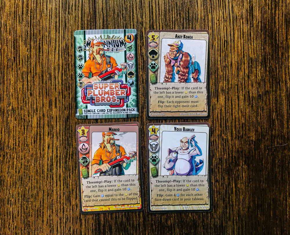 Millennium Blades cards