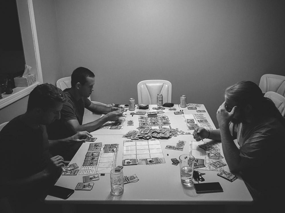 Millennium Blades game night