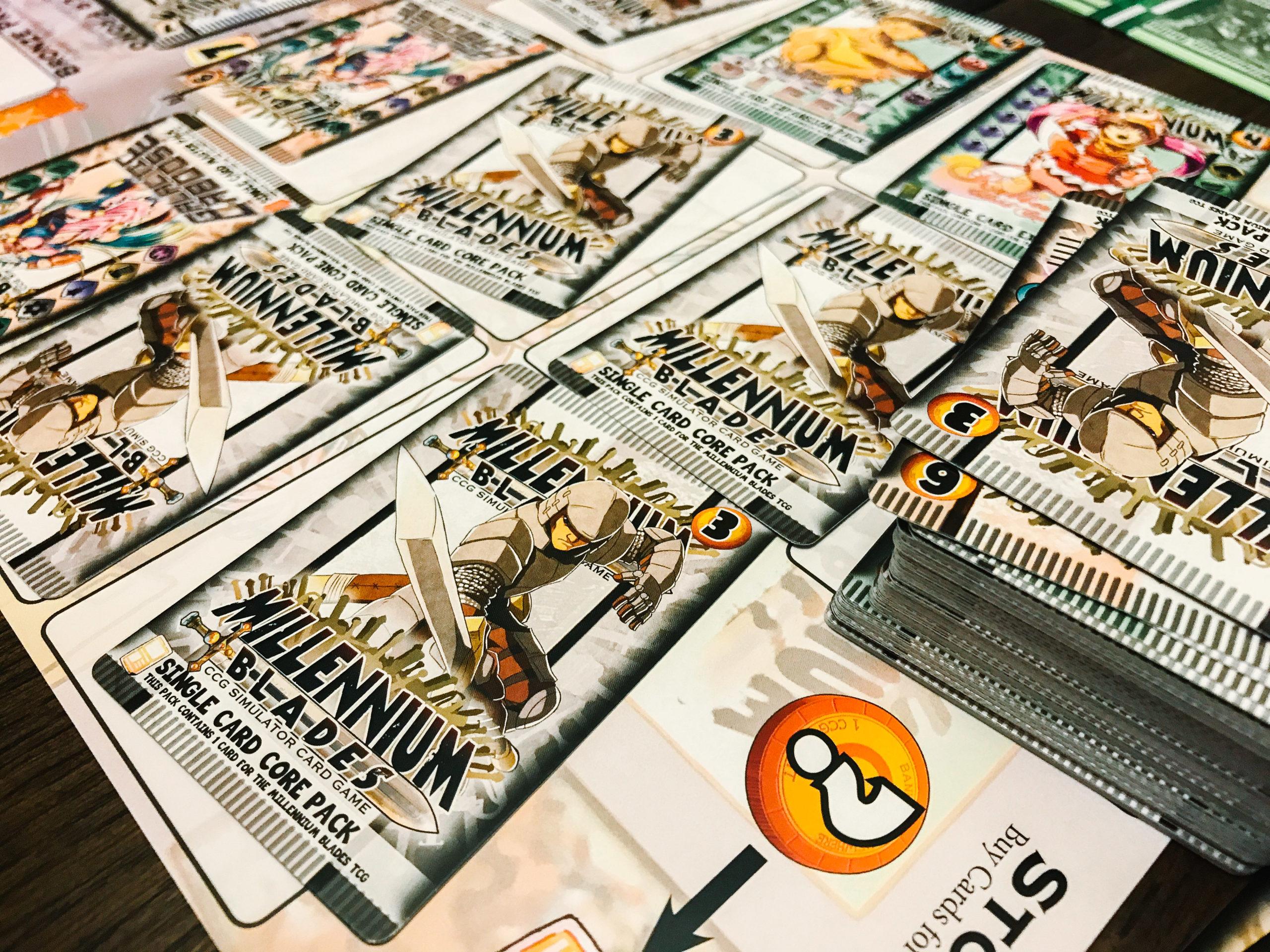Millennium Blades core set cards