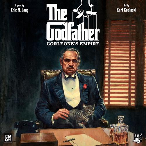 The Godfather Corleone's Empire box art