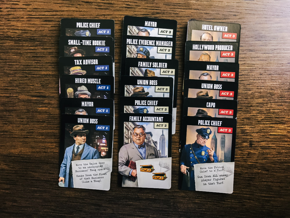 The Godfather Corleone's Empire ally cards