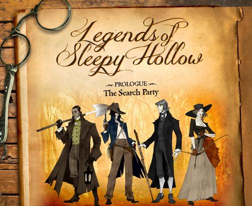 Legends of Sleepy Hollow box art