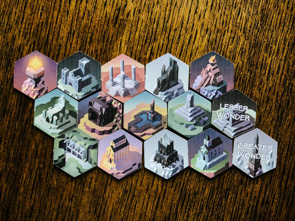 Unearth wonder tiles